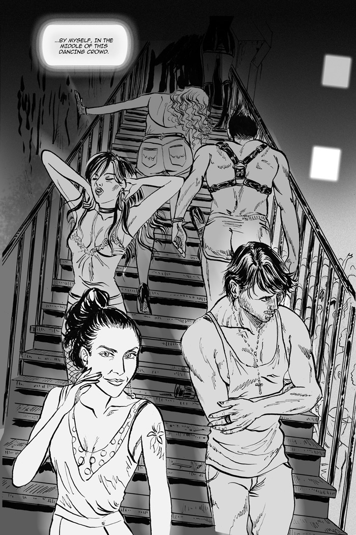 Until The Daylight - A Berlin Comic Novel By Rosario Salerno