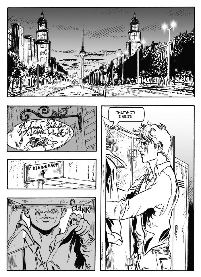 Until The Daylight - A Berlin Comic - Rosario Salerno